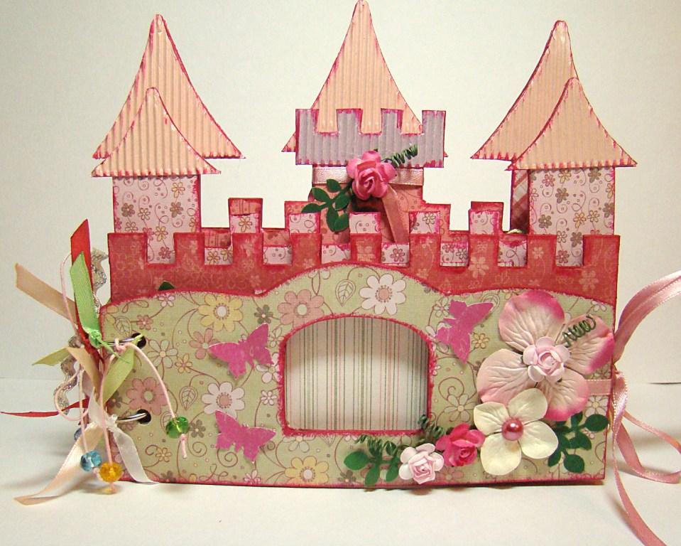 Замок принцессы своими руками из картона